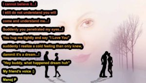 Dream of love boy