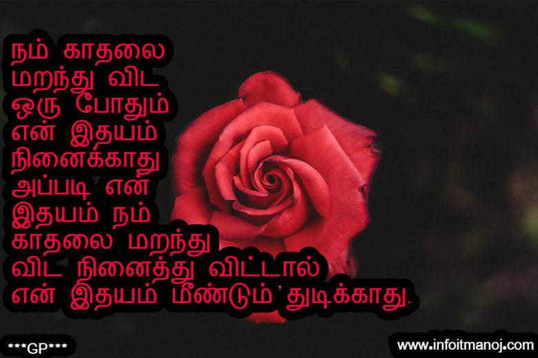 Nam Kadhalai Maranthu Vida Oru Pothum En Idhayam Ninaikathu