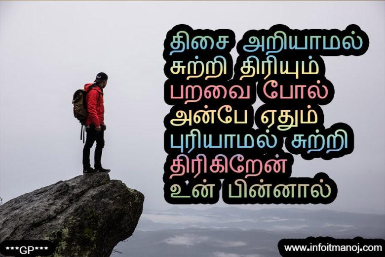 Thisai Ariyaamal Sutri Thiriyum Paravai Pola