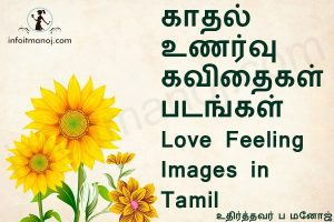 காதல் உணர்வு தமிழ் கவிதை வரிகள்,Tamil Love Feeling Images